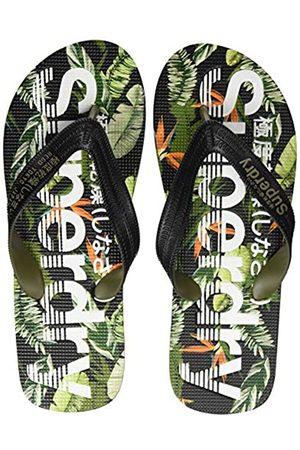 Superdry Men's Scuba AOP Flip Flop, (Tara Tropical Sl5)