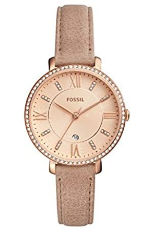 Fossil Womens Quartz Watch with Leather Strap ES4292