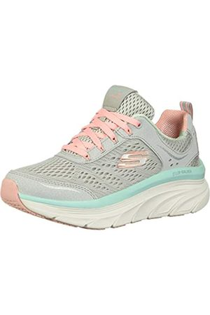 Skechers Women's D'LUX Walker-Infinite Motion Trainers, ( /Coral Gycl)