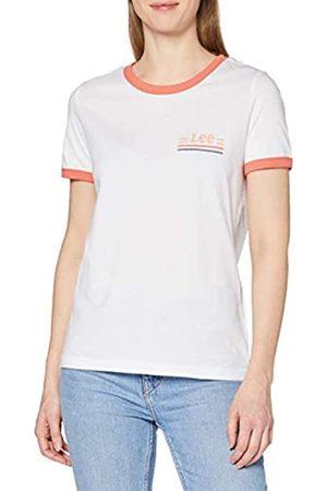 Lee Women's Ringer TEE T-Shirt