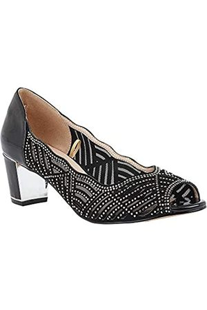 Lotus Women's Immy Open Toe Heels, ( Bj)