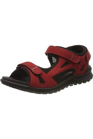 Legero Women's SIRIS Ankle Strap Sandals, (Chili (Rot) 51)