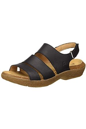 El Naturalista Women's N5702 Multi Leather Wakatiwai Open Toe Sandals