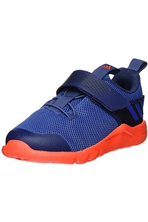 adidas Unisex Babies' Rapidaflex El I Fitness and Exercise Sneakers, (TECH Indigo/Glory /Solar RED)