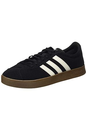 adidas Men's Vl Court 2.0 Skateboarding Shoes, (Negbás/Blapur/Gum5 000)