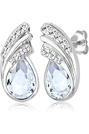 Elli Women's Stud Earrings 925 Sterling Silver with Swarovski Crystals 0306111713