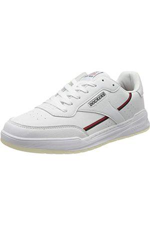 Dockers Men's 46rm001-610501 Low-Top Sneakers, (Weiss/Schwarz 501)