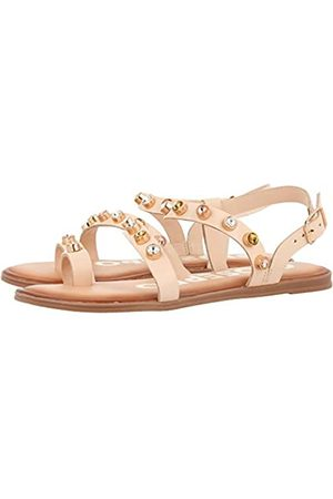 Gioseppo Women's Halcott Open Toe Sandals, (Nude Nude)