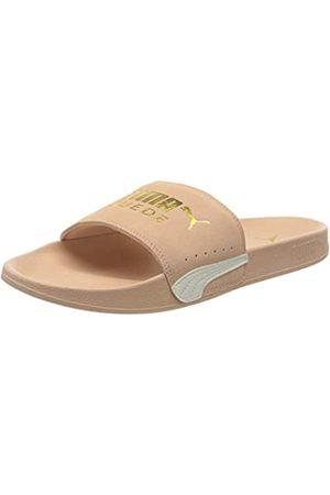 Puma Unisex Adulto Leadcat FTR Suede Classic Zapatos de Playa y Piscina, Rosa ( Sand Team -Marshmallow 04)