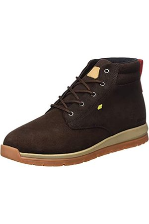Boxfresh Men's BROWNDALE Trainers, (Toffee/Lime 794)