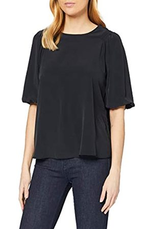 Dorothy Perkins Women's Puff Sleeve High Neck Top Blouse
