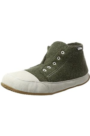 Living Kitzbühel Unisex's Canvas Talsen Hi-Top Slippers, Grau (Fango)