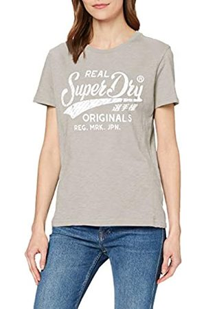 Superdry Women's Ro Text Infill Entry Tee T-Shirt