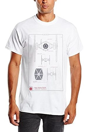 STAR WARS Men's VII Tie Fighter Maintenance Manual T-Shirt