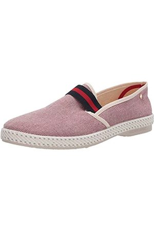RIVIERAS Unisex Adults' College Redish Espadrilles, (Rouge 98)