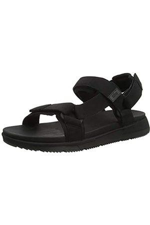 FitFlop Men's Sporty Back-Strap Sandals Flip Flops, (All 090)