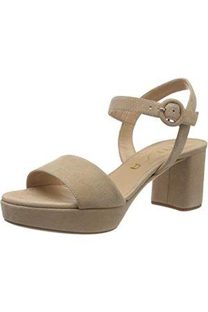 unisa Women's Nenes_20_ks Platform Sandals, (Nude Nude)