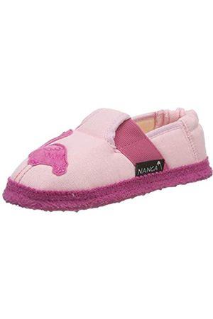 Nanga Girls' Flamingo Open Back Slippers, (Rosa 26)