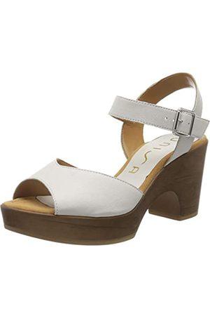 unisa Women's Ottis_sty Platform Sandals, Off- (Ivory Ivory)
