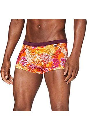 Hom Men - Swim Shorts 'Equatorial Swimwear with Flower Print - - XL