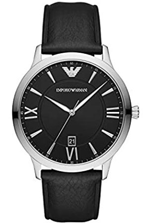 Emporio Armani Quartz Watch with Leather Strap AR11210