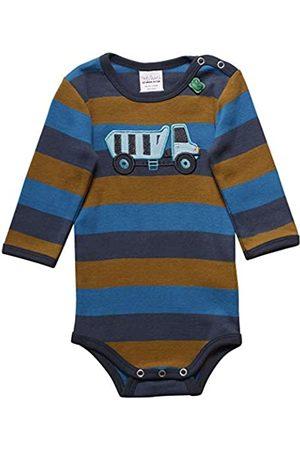 Fred's World by Green Cotton Baby Boys' Crane Stripe Body Shaping Bodysuit