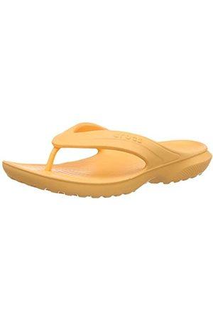 Crocs Unisex Kid's Classic Flip Flops, (Cantaloupe 801)