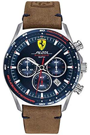 Scuderia Ferrari Men's Analogue Quartz Watch with Leather Strap 0830711