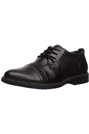 Skechers Men's Bregman SELONE Oxfords, ( Blk)