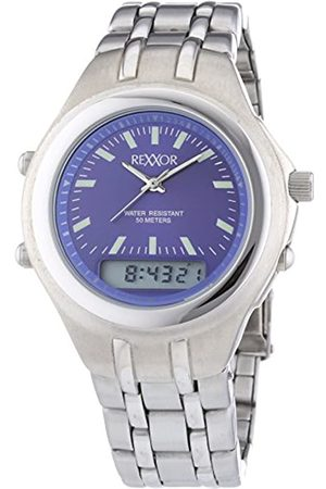 Rexxor Men's Quartz Watch with Dial and Stainless Steel Metal Strap 242-7904-98