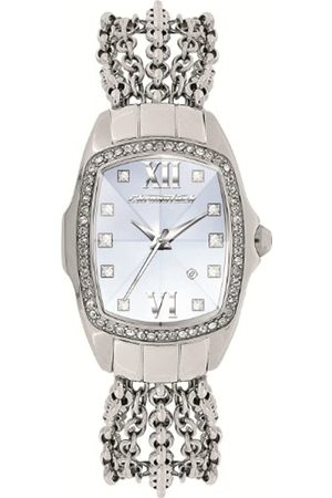 Chronotech Ladies Watch CT7930LS/03M 'Prisma Lady Night' with Stainless Steel Strap