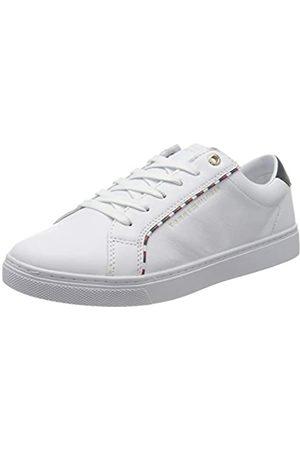 Tommy Hilfiger Women's Corporate Detail Sneaker Low-Top, ( 100)