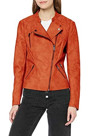 Only Women's Onlava Faux Leather Biker OTW Noos Jacket