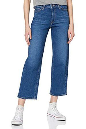 Lee Women's Wide Leg Straight Jeans