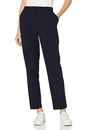 Dorothy Perkins Tall Women's Navy Ankle Glazer Trousers Pants
