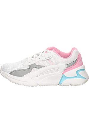 Dockers by Gerli Unisex Kids' 46np602-617502 Low-Top Sneakers, (Weiss/Grau 502)