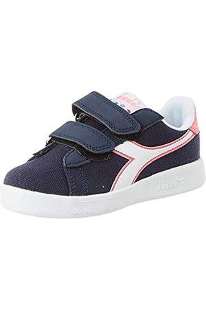 Diadora Unisex Kids' Game Cv Ps Fitness Shoes, (Corsair/Hot C4183)