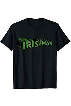 Miftees Saint Patrick's Superhero Irishman Superhero T-Shirt