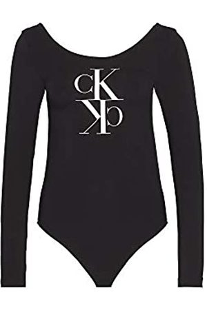 Calvin Klein Jeans Women's Mirrored Monogram Body Shirt