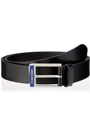 Calvin Klein Men's 35MM ENAMEL BUCKLE SMOOTH BELT