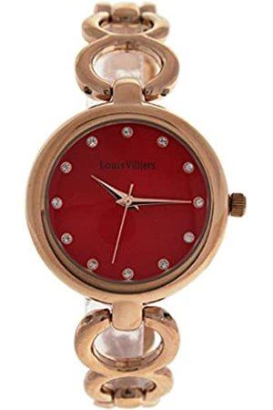Louis Villiers Unisex-Adult Analogue Classic Quartz Watch with Stainless Steel Strap AL0583-09