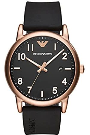 Emporio Armani Men's Analogue Quartz Watch with Silicone Strap AR11097