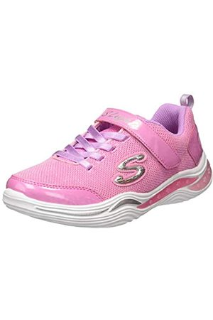 Skechers Girls' Power Petals Trainers, ( Mesh/Multi Trim Prmt)