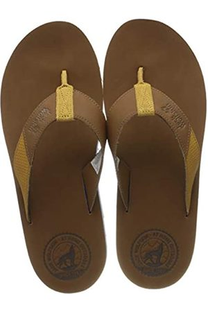 Jack Wolfskin Men's Beachster Lt M Flip Flops, (Desert /Honey 5272)