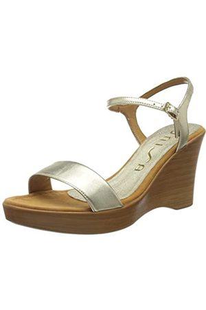 Unisa Women's Rita_20_LMT Platform Sandals, (Platino Platino)