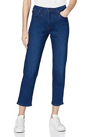 Lee Womens Carol Straight Straight Jeans, (Dark Worn Hf)