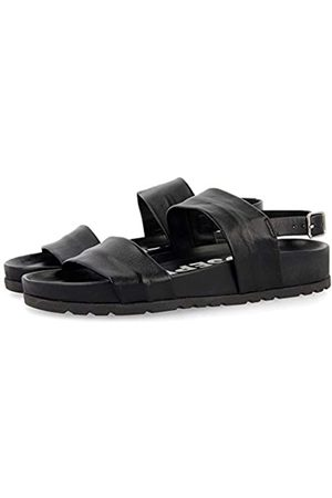 GIOSEPPO Women's Siler Open Toe Sandals, (Negro Negro)