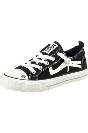 Dockers Unisex Kids' 46iz604-790100 Low-Top Sneakers, (Schwarz 100)
