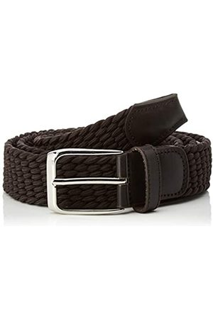 CORTEFIEL Men's Cinturon Liso Trenza Text Belt