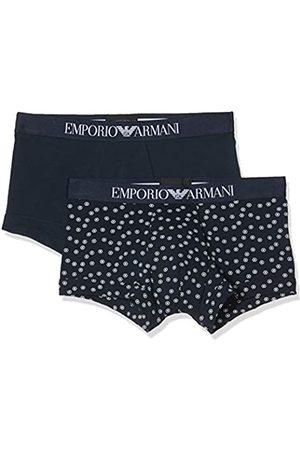 Emporio Armani Men's Multipack - Pattern Mix 2pack Trunk Swim